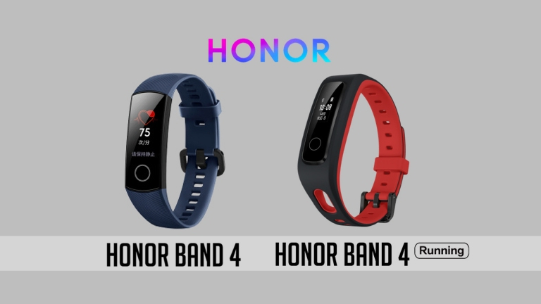 Huawei Honor announced Band 4 and Band 4 Running Edition