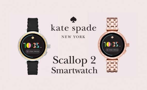 Kate Spade New York Scallop Smartwatch 2 tech specs