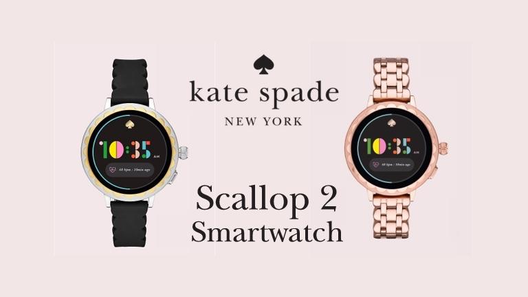 Kate Spade New York Scallop Smartwatch 2 tech specs