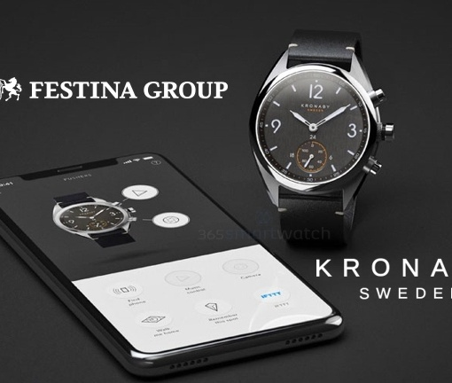 Festina Lotus acquires the assets and rights of the watch brand Kronaby.